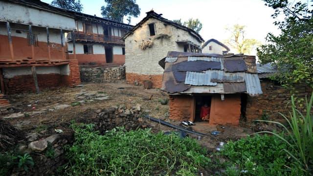 Une hutte dédiée à la pratique du chhaupadi au Népal. (Photo d'illustration)