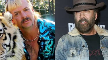 Joe Exotic et Nicolas Cage