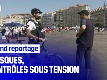 """""""Masques, contrôles sous tension"""": revoir le grand reportage de BFMTV"""