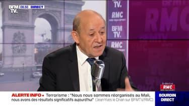 Jean-Yves Le Drian face à Jean-Jacques Bourdin en direct - 13/11