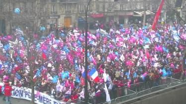 """La """"Manif pour tous"""" du 24 mars dernier."""