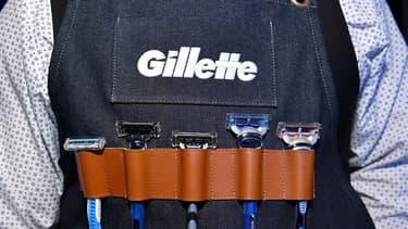 Le groupe Procter and Gamble (P&G)  qui a racheté les rasoirs Gilette en 2005