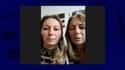 Mélanie Leroy et Ghislaine Gauthier, la sœur et la mère d'Adeline Gauthier, morte après avoir passé plusieurs heures enfermée dans une voiture, à Perpignan.