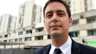 Yoann Gillet, conseiller régional d'Occitanie et membre du Rassemblement National, en mai 2017