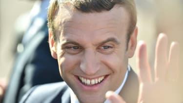 Emmanuel Macron au Touquet, le 18 juin 2017