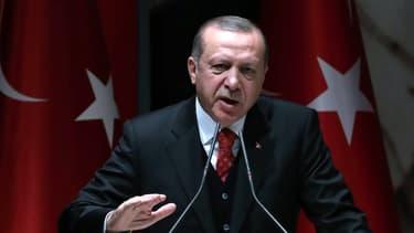 Recep Tayyip Erdogan, le 17 novembre 2017