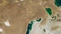 La mer d'Aral se transforme peu à peu en désert.