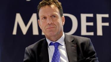 Geofrroy Roux de Bézieux, le vice-président du Medef.
