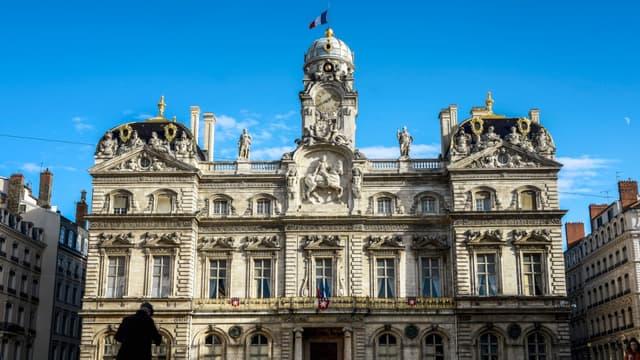 L'Hôtel de ville de Lyon.