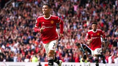 Cristiano Ronaldo s'est offert un doublé pour son grand retour à Manchester