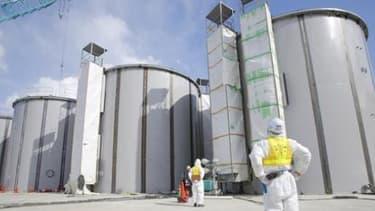 A Fukushima, la décontamination du site continue.