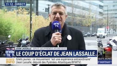 """""""Certains ont le sentiment de ne plus faire partie de la société"""" considère Jean Lasalle à propos des gilets jaunes"""