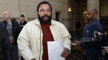 Dieudonné au tribunal de Paris en mars dernier.