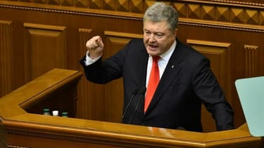 Le président ukrainien Petro Porochenko.
