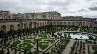 Les jardins de l'Orangerie du Château de Versailles