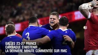 Galles 23-27 France: La dernière minute héroïque des Bleus commentée sur RMC