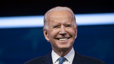 Le président américain élu Joe Biden, le 22 décembre 2020 à Wilmington