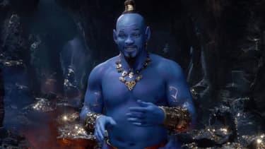 Will Smith dans la peau du génie dans Aladdin