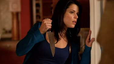 Neve Campbell dans Scream 4