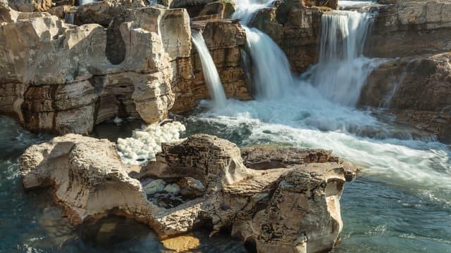 Les cascades du Sautadet dans le Gard (Photo d'illustration)