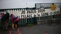 Manifestation, en raison de la tenue des Jeux olympiques en 2024 en Seine-Saint-Denis, le 13 décembre 2020. (Image d'illustration)