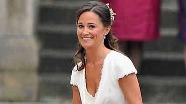 Pippa Middleton lors du mariage de sa soeur en 2011