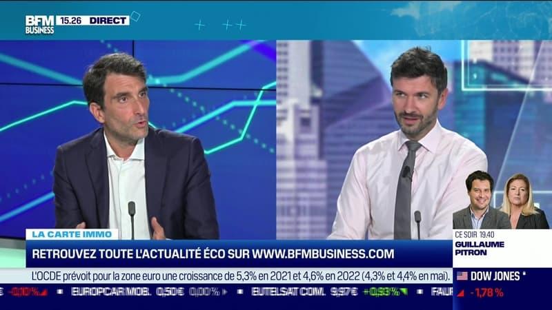 Marie Coeurderoy (BFM Business) et Joachim Azam (Novaxia) : La commission Rebsamen rend officiellement ses recommandations pour relancer la construction de logements en France - 21/09