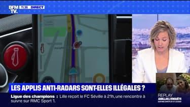 Les applis anti-radars sont-elles illégales ? BFMTV répond à vos questions