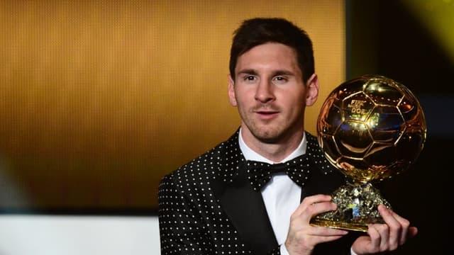 Ballon d'Or 2012 : Lionel Messi