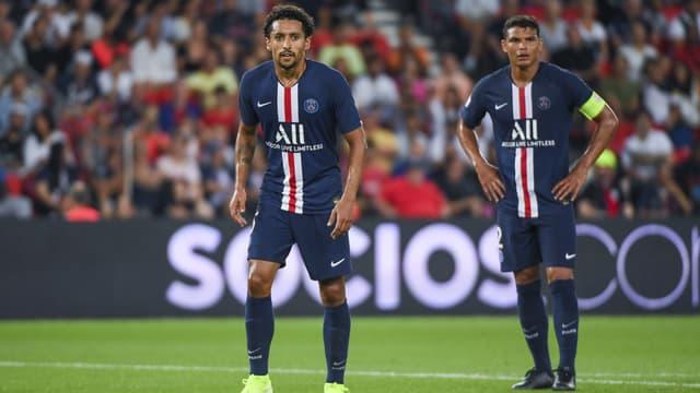 Marquinhos et Thiago Silva - Paris-SG