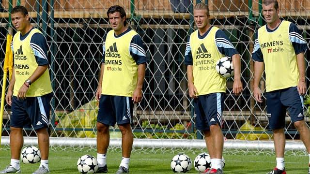 Ronaldo, Luis Figo, David Beckham, Zinéedine Zidane