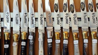Les couteaux Laguiole font partie des candidats au label
