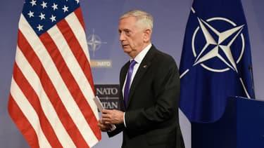 Le ministre de la Défense James Mattis, le 29 juin 2017.