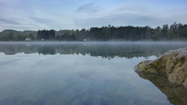 Le lac d'Aiguebelette.