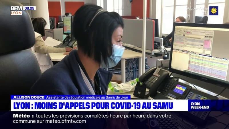 Lyon: les appels pour cause de Covid-19 diminuent