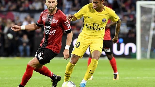 Lucas Deaux et Neymar