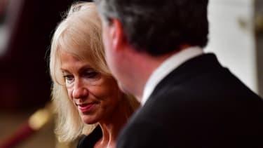 Kellyanne Conway, ancienne directrice de campagne de Donald Trump, ici en août 2018.