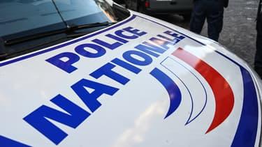 Une voiture de la police nationale (photo d'illustration)