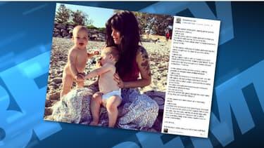Le message de soutien posté par cette blogueuse australienne a rencontré un grand succès.
