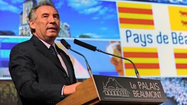 Le leader du Modem François Bayrou