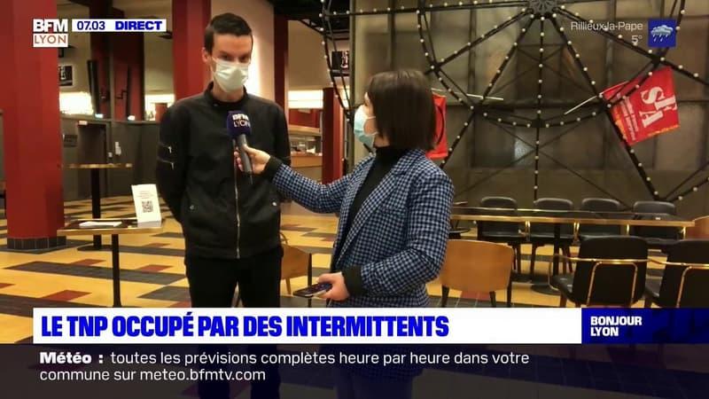 Villeurbanne: le TNP occupé par des intermittents
