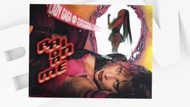 """La pochette du single """"Rain On Me"""""""