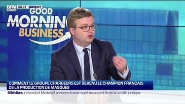 Le PDG de Chargeurs Michaël Fribourg