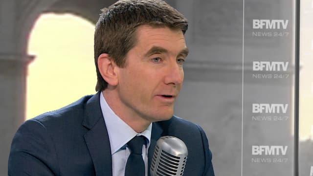 Stéphane Gatignon, vendredi matin sur BFMTV et sur RMC.