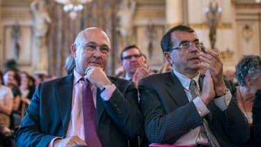 Jean-Jack Queyranne (à droite),  va proposer de supprimer environ 170 dispositifs d'Etat.