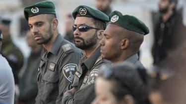 Des policiers israéliens, image d'illustration.