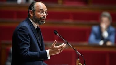 Edouard Philippe à l'Assemblée nationale le 28 avril 2020