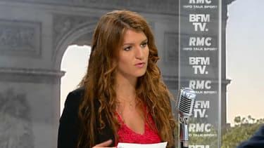 Marlène Schiappa sur BFMTV et RMC mardi 8 mai.