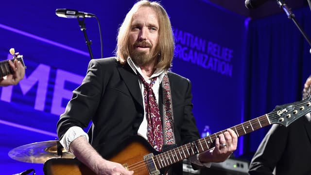 Tom Petty à Los Angeles en janvier 2016