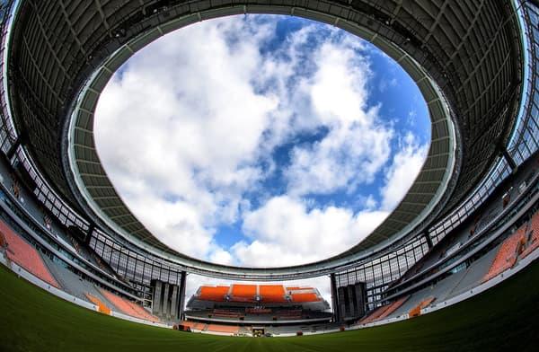 Vues intérieures dans la Ekaterinbourg Arena